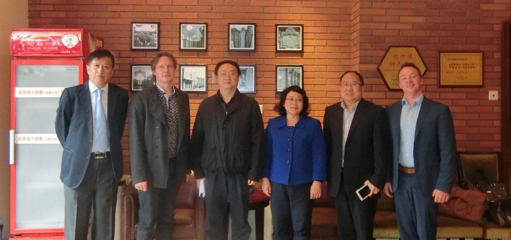 MOHURD delegation led by Mr. Guo meets with OASC delegation led by Mr. Brynskov