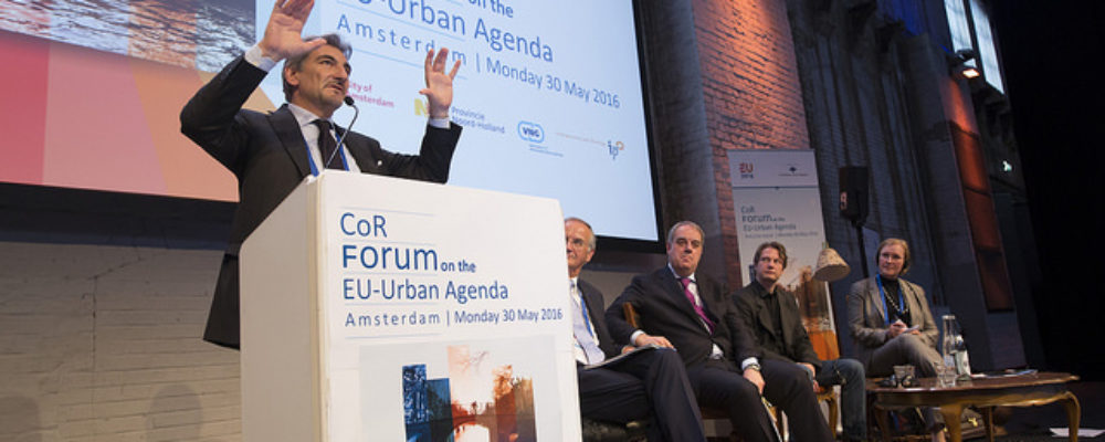 OASC at CoR Forum on the EU Urban Agenda