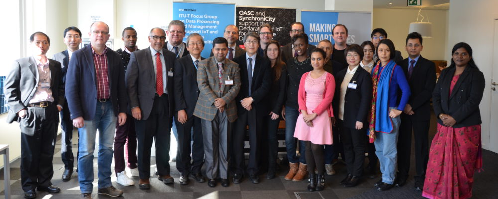 OASC hosts ITU-T Focus Group Meeting
