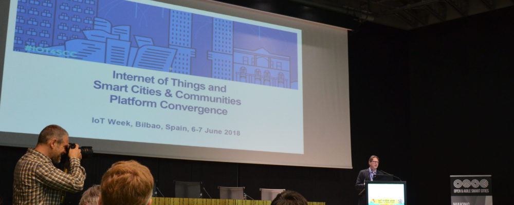 IoT and Smart Cities & Communities Platform Convergence 2018