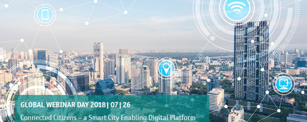 Webinar: Connected Citizens – A Smart City Enabling Digital Platform