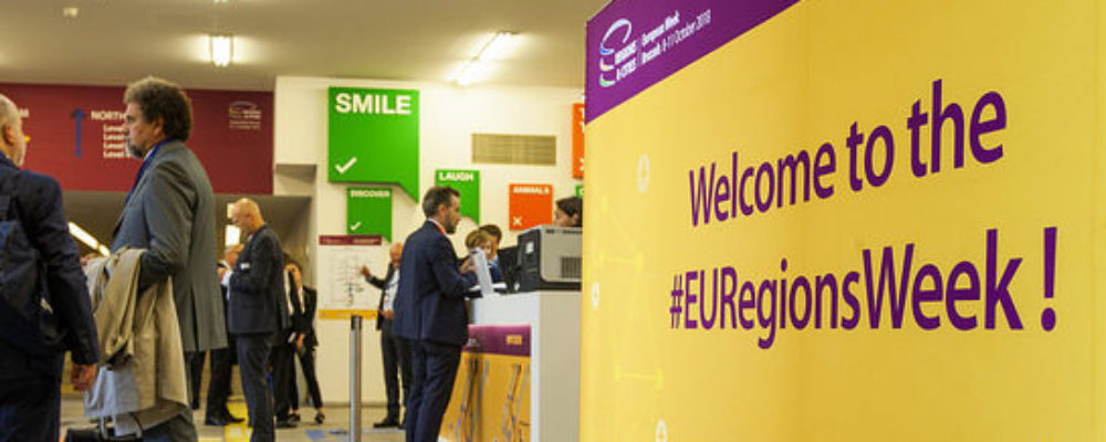 Secure Your Seat at EU Regions Week 2019