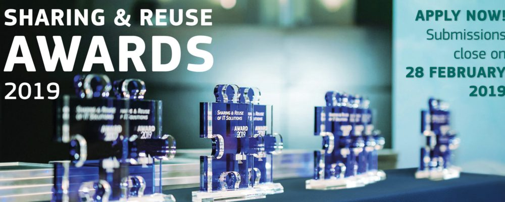 Submit your IT solution for the Sharing & Reuse Awards