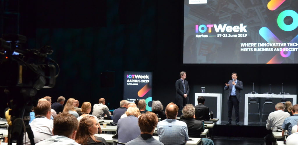 Sebastien Ziegler and Martin Brynskov open the Smart City & IoT track at IoT Week 2019