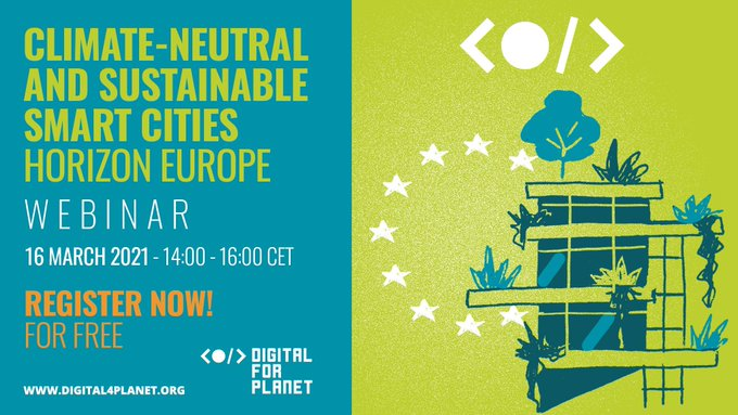 Webinar – The Climate-Neutral and Sustainable Smart Cities Horizon Europe