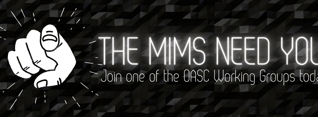 Register for the OASC Working Groups Kick-off Session